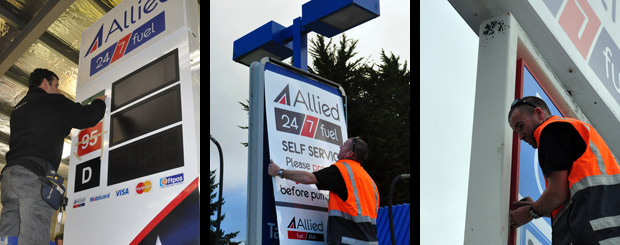 Sign Installation by Sign Advertising Christchurch